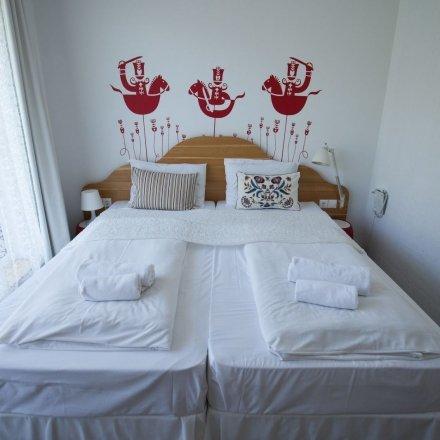 Kétágyas szoba - Rusztikus stílus